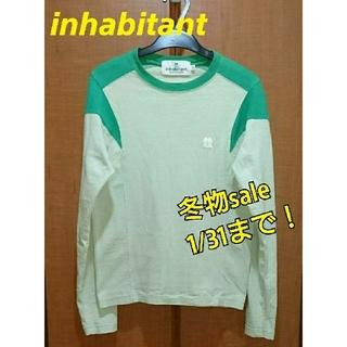 インハビダント(inhabitant)の☆inhabitant インハビタント ロングTシャツ 【XXS】(Tシャツ(長袖/七分))