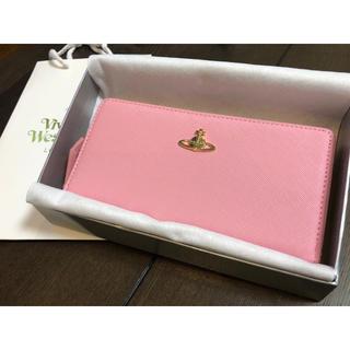 ヴィヴィアンウエストウッド(Vivienne Westwood)のヴィヴィアンウエストウッド 長財布 ピンク 正規品 新品未使用(財布)