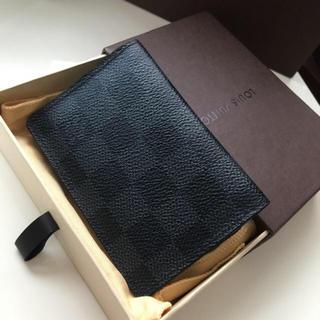 LOUIS VUITTON - 美品 正規品ルイヴィトングラフィット名刺入れ カード入れ