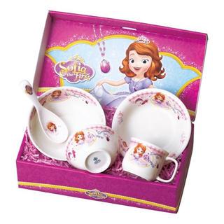 ディズニー(Disney)のちいさなプリンセス ソフィア こども食器 ギフトセット 陶器(その他)