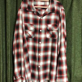 ザリアルマッコイズ(THE REAL McCOY'S)のリアルマッコイズ  レーヨンチェックシャツ(シャツ)