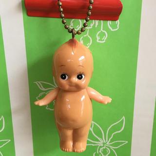 キユーピー(キユーピー)のキューピー人形  レトロ風  ボールチェーンつき(キャラクターグッズ)