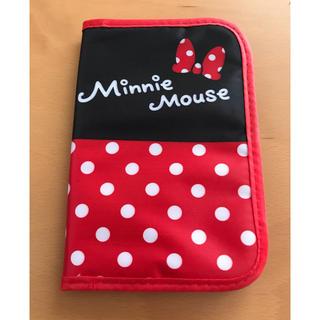 ディズニー(Disney)のミニー マルチケース 母子手帳 カード収納(母子手帳ケース)