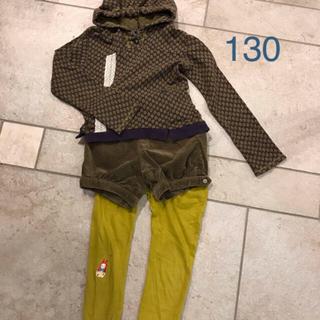 ズッパディズッカ(Zuppa di Zucca)のズッパディズッカ 長袖Tシャツ、コペック、ショートパンツ 130サイズ2点セット(Tシャツ/カットソー)