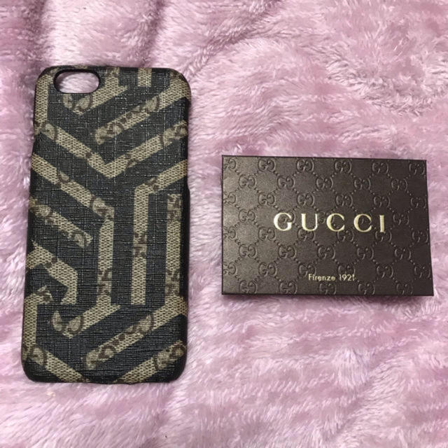 Gucci - GUCCI❤︎iPhoneケースの通販 by aaa's shop|グッチならラクマ