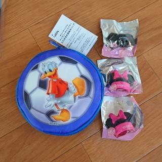 ディズニー(Disney)の値下げ○たためる保冷バッグ&ボトルキャプ(キャラクターグッズ)