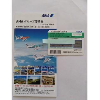 エーエヌエー(ゼンニッポンクウユ)(ANA(全日本空輸))のANA 株主優待 1枚 優待券付(航空券)