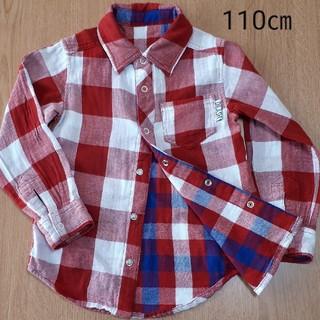 ディラッシュ(DILASH)のディラッシュ チェックシャツ 110(Tシャツ/カットソー)