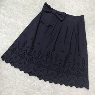 トゥービーシック(TO BE CHIC)のトゥービーシック tobechicスカート42 フォクシー ルネ コトゥー(ひざ丈スカート)