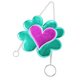 パメオポーズ(PAMEO POSE)のHEART FLOWER NECKLACE BAGパメオポーズハートフラワー(ショルダーバッグ)