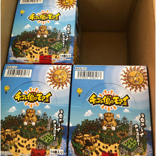 バンダイ(BANDAI)のチョコレイ島のモアイ 14個入り×3箱 新品未開封(菓子/デザート)