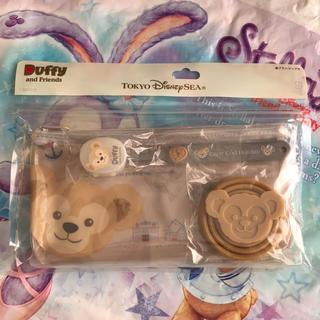 Disney - ダッフィー 歯ブラシコップ付