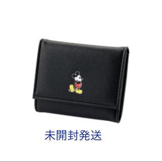 フリークスストア(FREAK'S STORE)のミッキーマウス  クラシックミッキー  上質レザー調 三つ折り財布 ミッキー (財布)