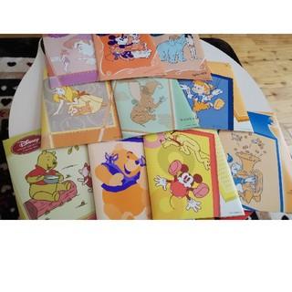 ディズニー(Disney)の【千趣会:未使用】ディズニー꙳★*゚レターセット!10冊セット☆(カード/レター/ラッピング)