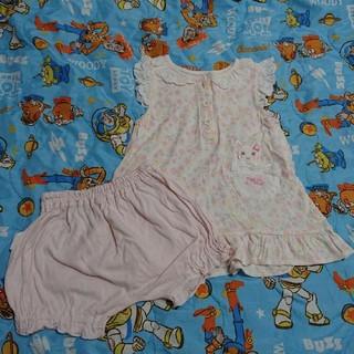 クーラクール(coeur a coeur)の90サイズ クーラクールチュニックスーツ(Tシャツ/カットソー)