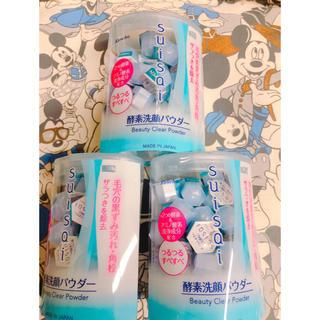 スイサイ(Suisai)のスイサイ酵素洗顔パウダー32個入り× 3点(洗顔料)