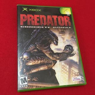 エックスボックス(Xbox)のxbox  PREDATOR CONCRETE JUNGLE.(家庭用ゲームソフト)