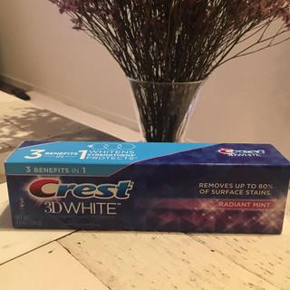 クレスト(Crest)のCrest 3D WHITE クレスト 歯磨き粉(歯磨き粉)