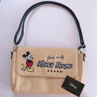 ディズニー(Disney)の新品★ディズニー★ミッキーマウス★雑材ショルダーバック★軽量(ショルダーバッグ)