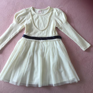 バービー(Barbie)の韓国子供服ワンピース 120サイズくらい(ワンピース)