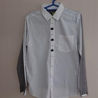 エイチナオト(h.naoto)のねこじろう第9弾 2FACEシャツ(シャツ/ブラウス(長袖/七分))