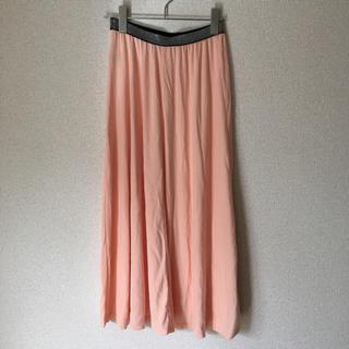 サルース(salus)の超美品☆Salusミディスカート ピンク系ユニクロGU ZARA H&M楽天(ロングスカート)