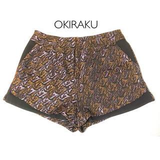 オキラク(OKIRAKU)のOKIRAKU ショートパンツ レディース オシャレ オキラク パンツ 秋冬(ショートパンツ)