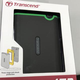 トランセンド(Transcend)の耐衝撃 ポータブルHDD(PC周辺機器)