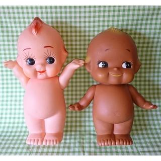 キユーピー(キユーピー)の昭和55年懸賞品 キューピー 人形 2体セット 昭和レトロポップ(ノベルティグッズ)