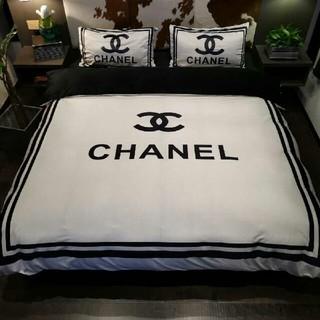 CHANEL - 【未使用】寝具掛け布団カバー*ベッドシーツ