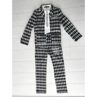 チャビーギャング(CHUBBYGANG)のチャビーギャング 新品 スーツ シャツ 120cm 3点 卒園 入学 フォーマル(ドレス/フォーマル)