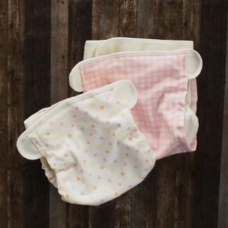ニシキベビー(Nishiki Baby)の布おむつカバー 6~11キロ 60~80センチ(ベビーおむつカバー)