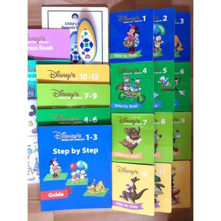 ディズニー(Disney)のDWE 最新版ステップバイステップ リモコン・ガイド類付 ALLPLAYSONG(キッズ/ファミリー)