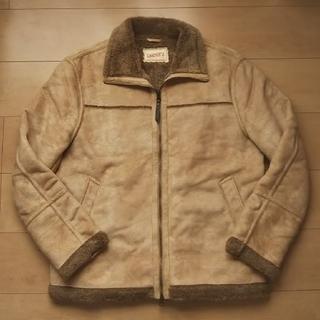 【未使用】スウェード ジャケット Lサイズ
