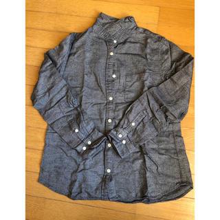 MUJI (無印良品) - コットン100%シャツ