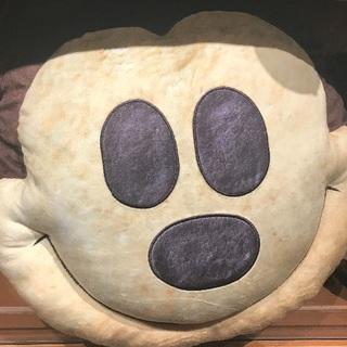 Disney - ミッキーパン クッション