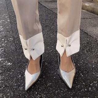 Ameri VINTAGE - アメリヴィンテージ Sサイズ CUFFS MOTIF TAPERED PANTS