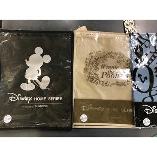 ディズニー(Disney)のDisney☆ミッキー・アリス・プーさん・既製カーテンの空袋12枚(ショップ袋)