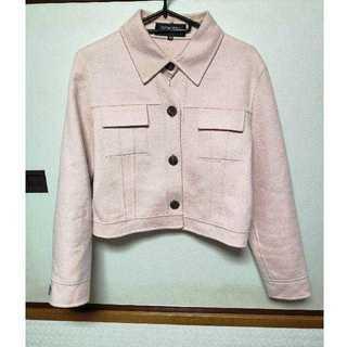 フォクシー(FOXEY)のfoxey  カシミヤ100 ピンク コート ジャケット  (テーラードジャケット)