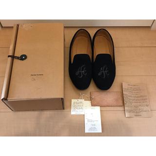 エンダースキーマ(Hender Scheme)のHenderScheme エンダースキーマ  ルームパンプス 靴 箱有 ネイビー(スリッポン/モカシン)