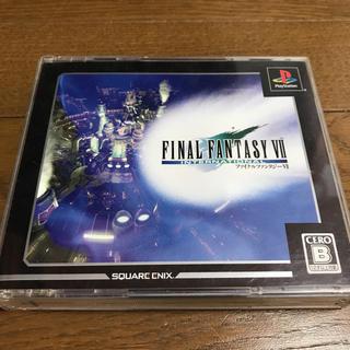プレイステーション(PlayStation)のPlayStation ファイナルファンタジー7 インターナショナル♫(家庭用ゲームソフト)