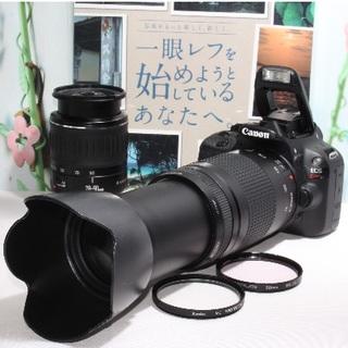 Canon - ❤️その一瞬を一生の思い出に❤️キャノン Kiss X7 ダブルレンズ❤️