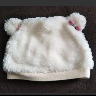 スーリー(Souris)のSouris スーリー 耳付き 帽子 45~50センチ(帽子)