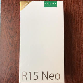 アンドロイド(ANDROID)のPCmobile様専用OPPO R15 Neo 5台(スマートフォン本体)