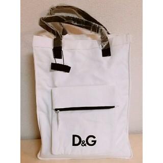 ディーアンドジー(D&G)のドルガバ D&G 布 トートバッグ(トートバッグ)