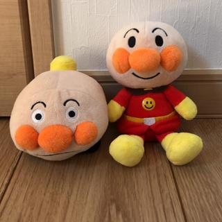 ぬいぐるみ アンパンマン&アンパンマン号セット