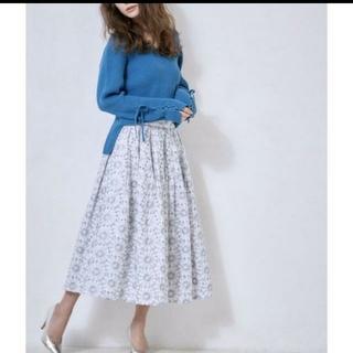 シェリーモナ(Cherie Mona)の【完売品】シェリーモナ フラワー 刺繍 スカート(ロングスカート)