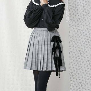 merry jenny - merry jenny リボンチェックミニスカート
