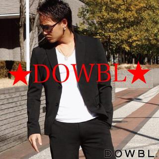 ダブル(DOWBL)の★DOWBL★ ブラック テーラードジャケット(テーラードジャケット)