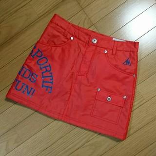 le coq sportif - ルコックゴルフの中綿スカート